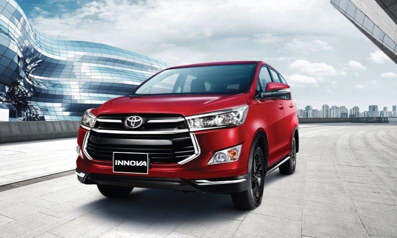 Xe ô tô 7 chỗ giá rẻ tốt nhất hiện nay - Toyota Innova .