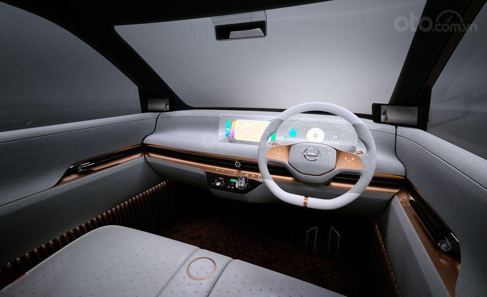 Nissan IMk Concept tích hợp công nghệ hiện đại, mang tính tương lai