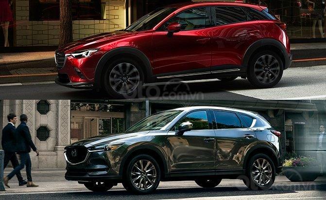 So sánh Mazda CX-3 và CX-5: Huynh đệ đối đầu