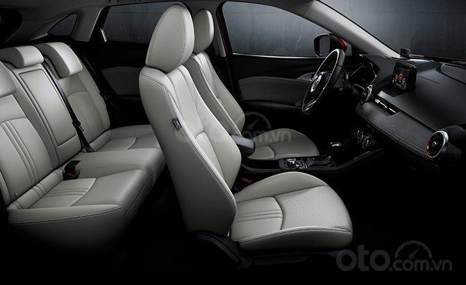 So sánh Mazda CX-3 và CX-5: Mazda CX-3 không mạnh về phần không gian