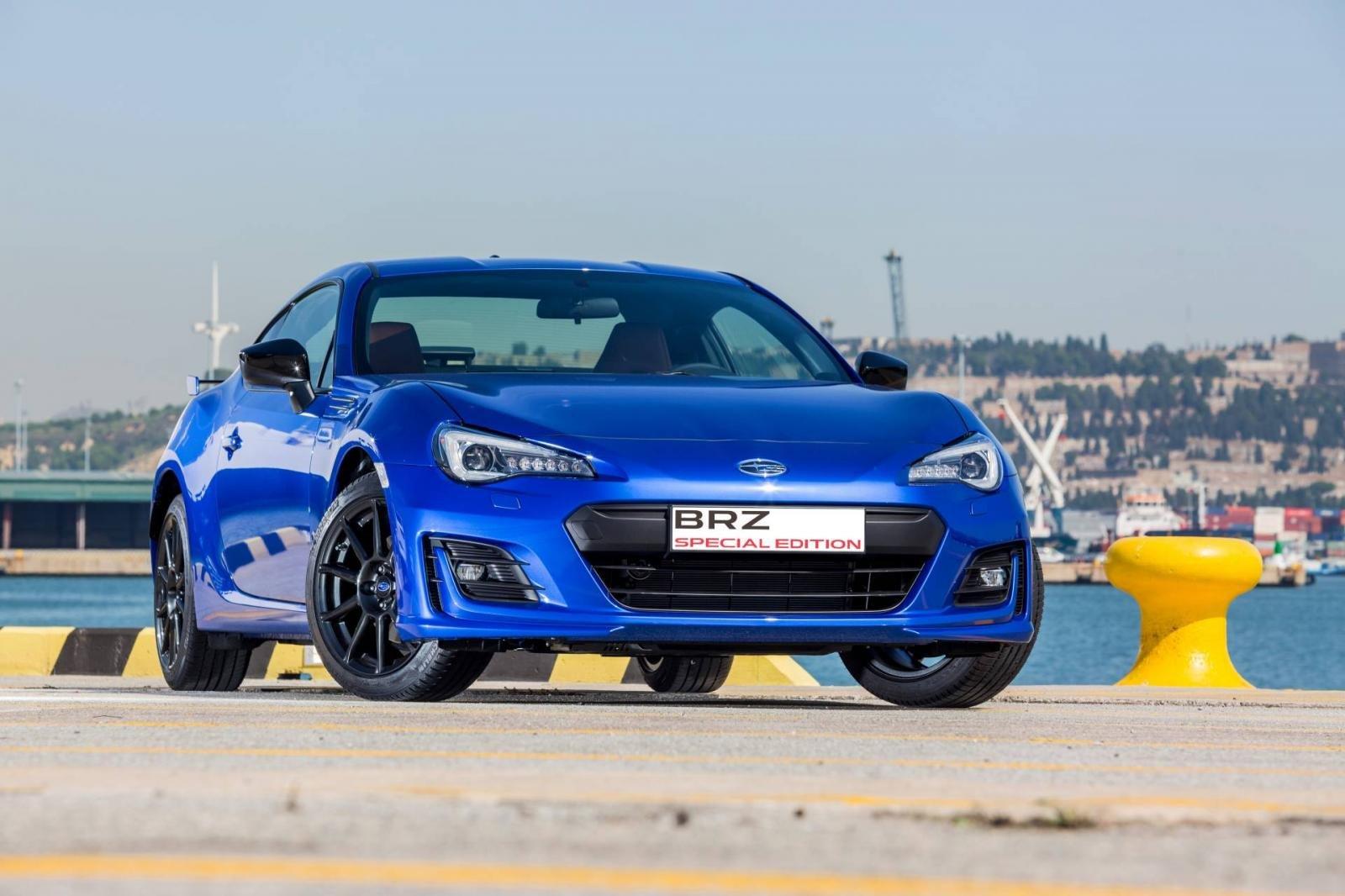 Phiên bản đặc biệt Subaru BRZ Special Edition dành riêng cho thị trường Tây Ban Nha.