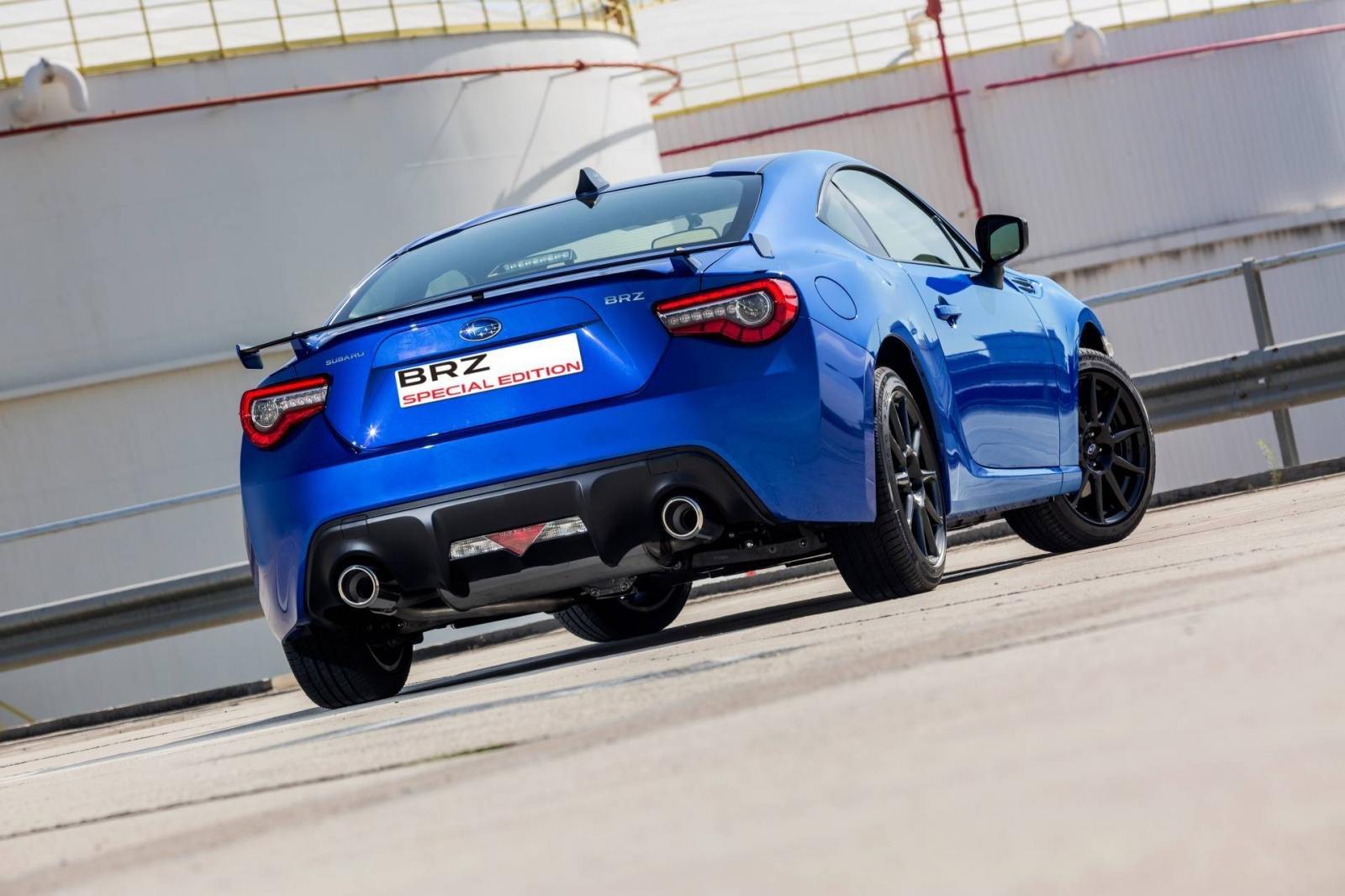 Subaru BRZ Special Edition chỉ được sản xuất giới hạn 20 chiếc.