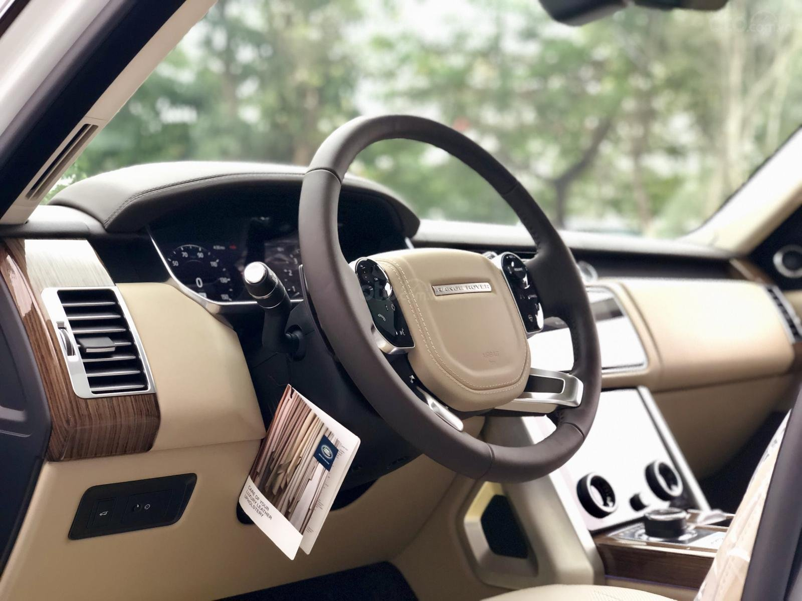 Bán LandRover Range Rover HSE 3.0 năm 2018, màu trắng, nhập khẩu, hỗ trợ ngân hàng 6 tỷ, call: 0914.868.198 (12)