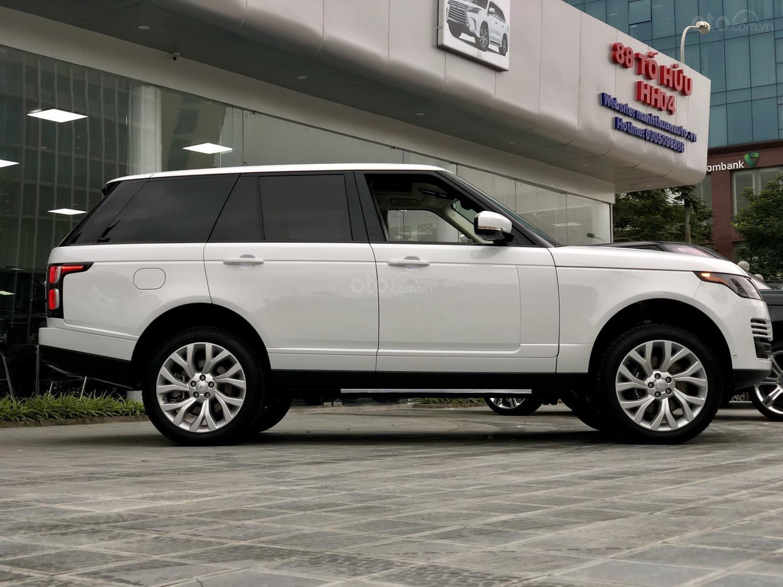 Bán LandRover Range Rover HSE 3.0 năm 2018, màu trắng, nhập khẩu, hỗ trợ ngân hàng 6 tỷ, call: 0914.868.198 (11)