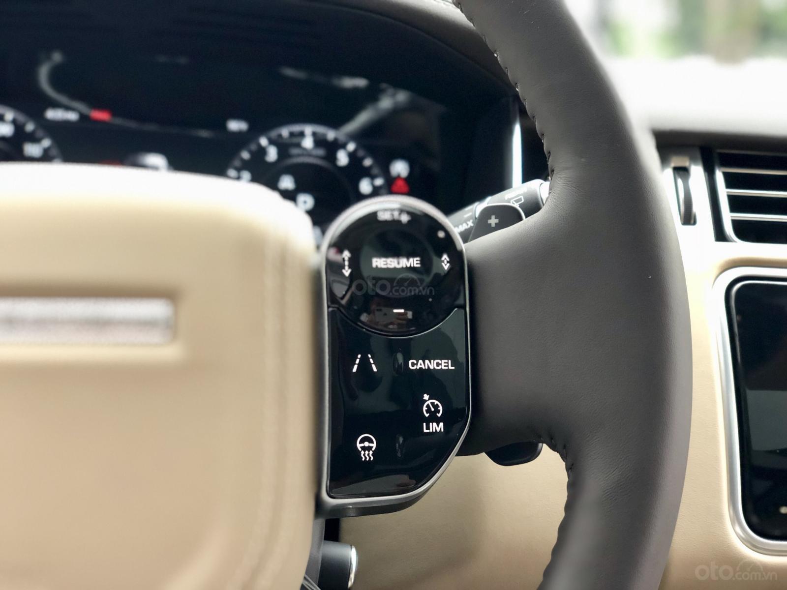 Bán LandRover Range Rover HSE 3.0 năm 2018, màu trắng, nhập khẩu, hỗ trợ ngân hàng 6 tỷ, call: 0914.868.198 (22)