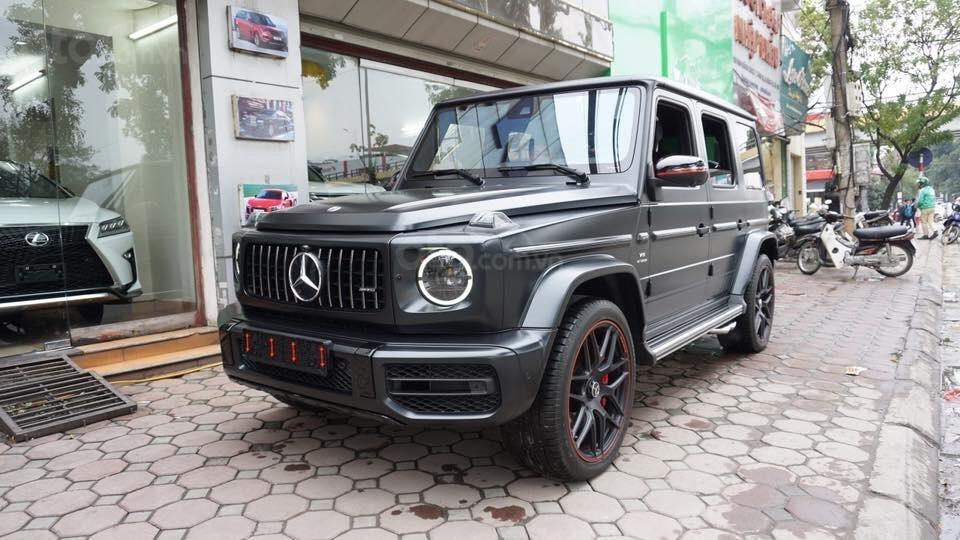 Bán Mercedes G63 Edition one sản xuất 2019, màu đen, xe nhập Mỹ: LH 093.996.2368 Ms Ngọc Vy (2)
