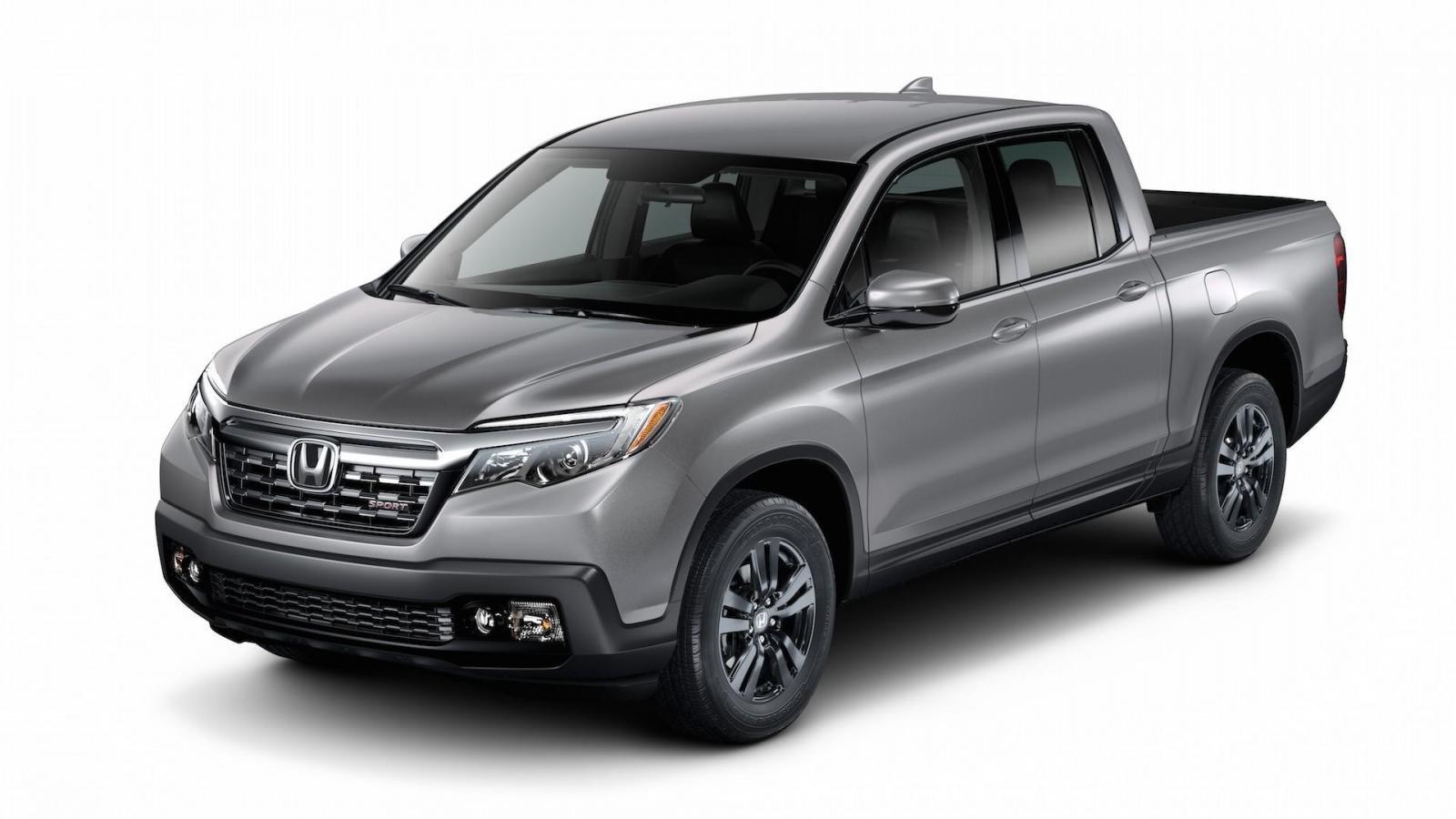 Mẫu bán tải Honda Ridgeline đang sử dụng động cơ xăng V6.