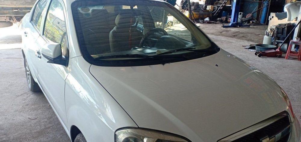 Bán Chevrolet Aveo 2012, màu trắng, sang tên 1 nốt nhạc (1)