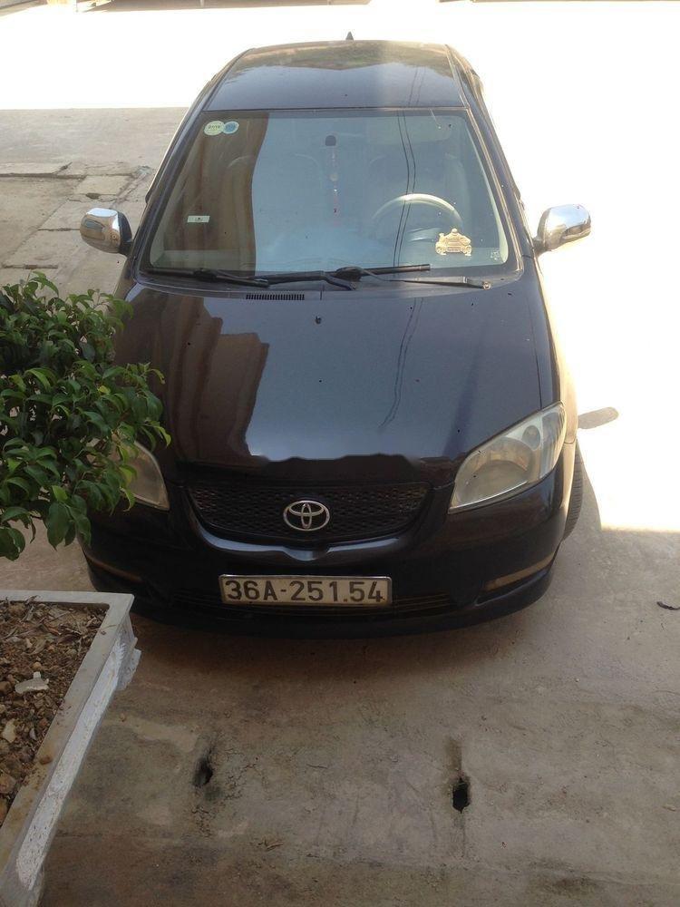Bán xe Toyota Vios đời 2006, màu đen (1)