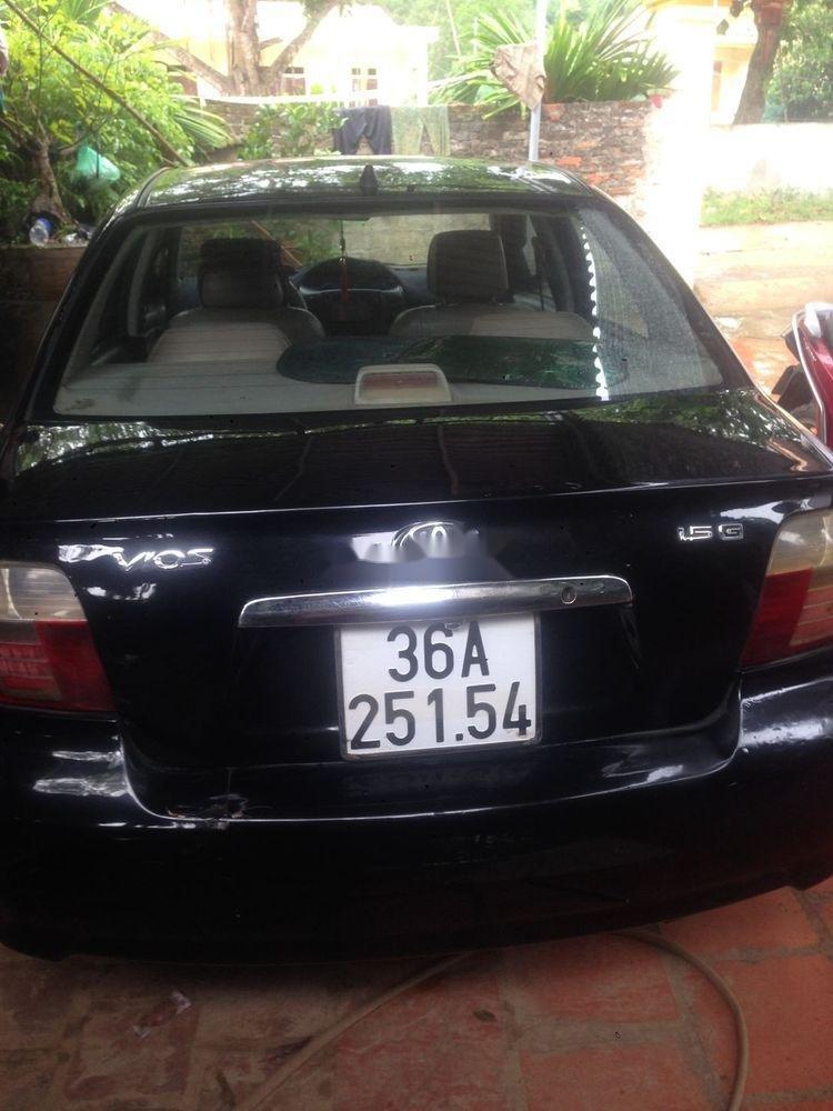 Bán xe Toyota Vios đời 2006, màu đen (4)