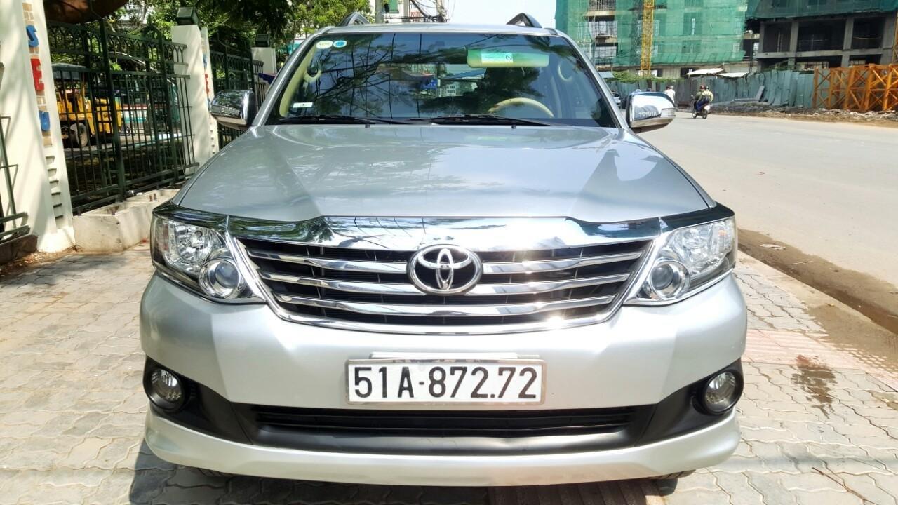 Bán xe Toyota Fortuner V. 2.7 máy xăng T6/2014, liên hệ: 0913715808 - 0942892465 Thanh (1)