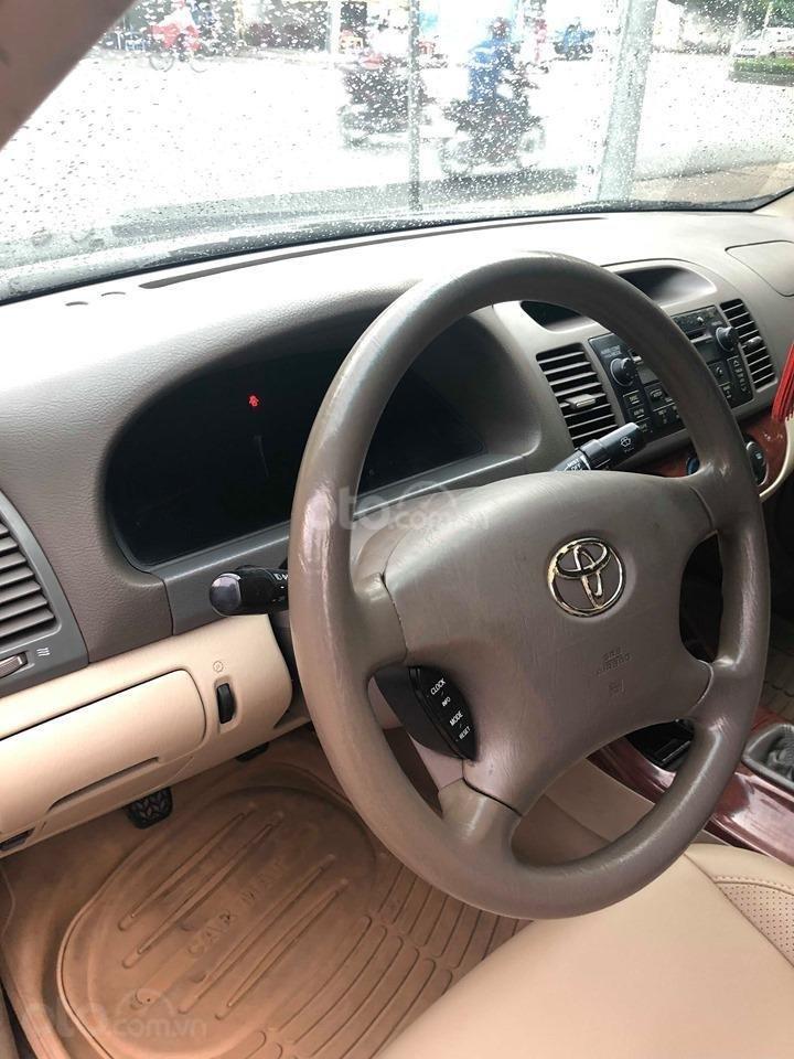 Bán xe Toyota Camry 2.4G sản xuất 2003, màu đen chính chủ giá rẻ (2)