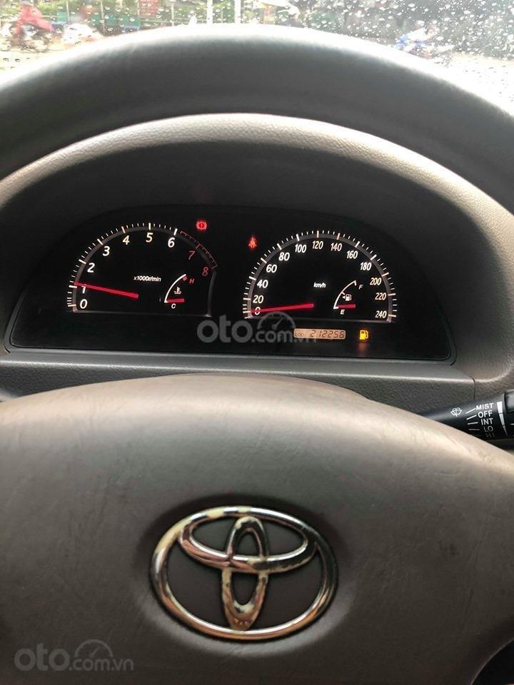 Bán xe Toyota Camry 2.4G sản xuất 2003, màu đen chính chủ giá rẻ (14)