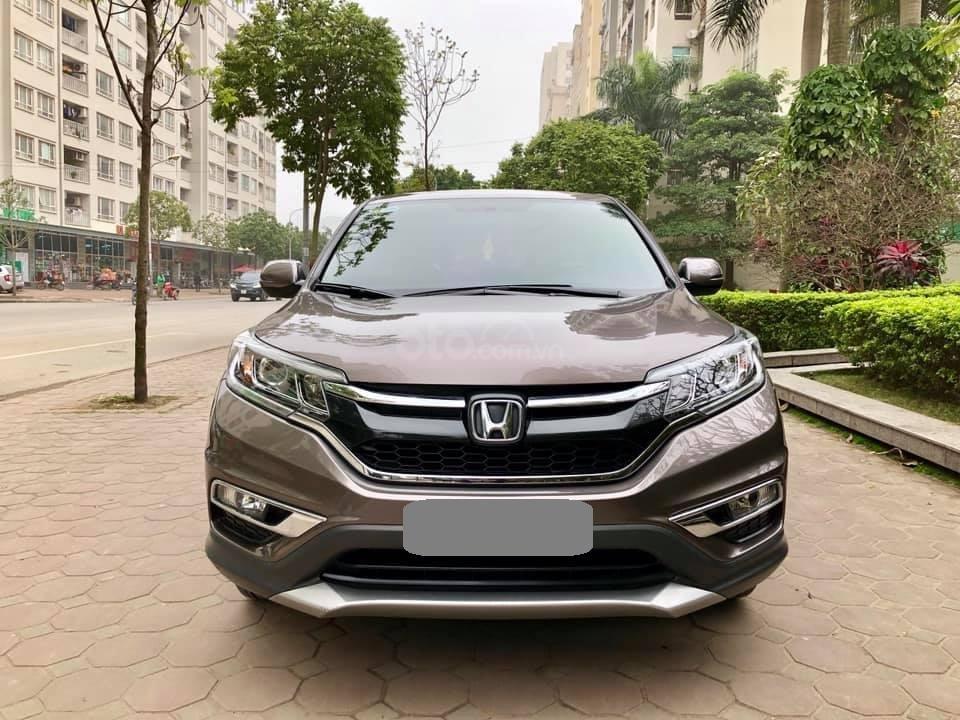 Cần bán Honda CRV 2017 bản 2.0 xám, xe zin như mới (9)