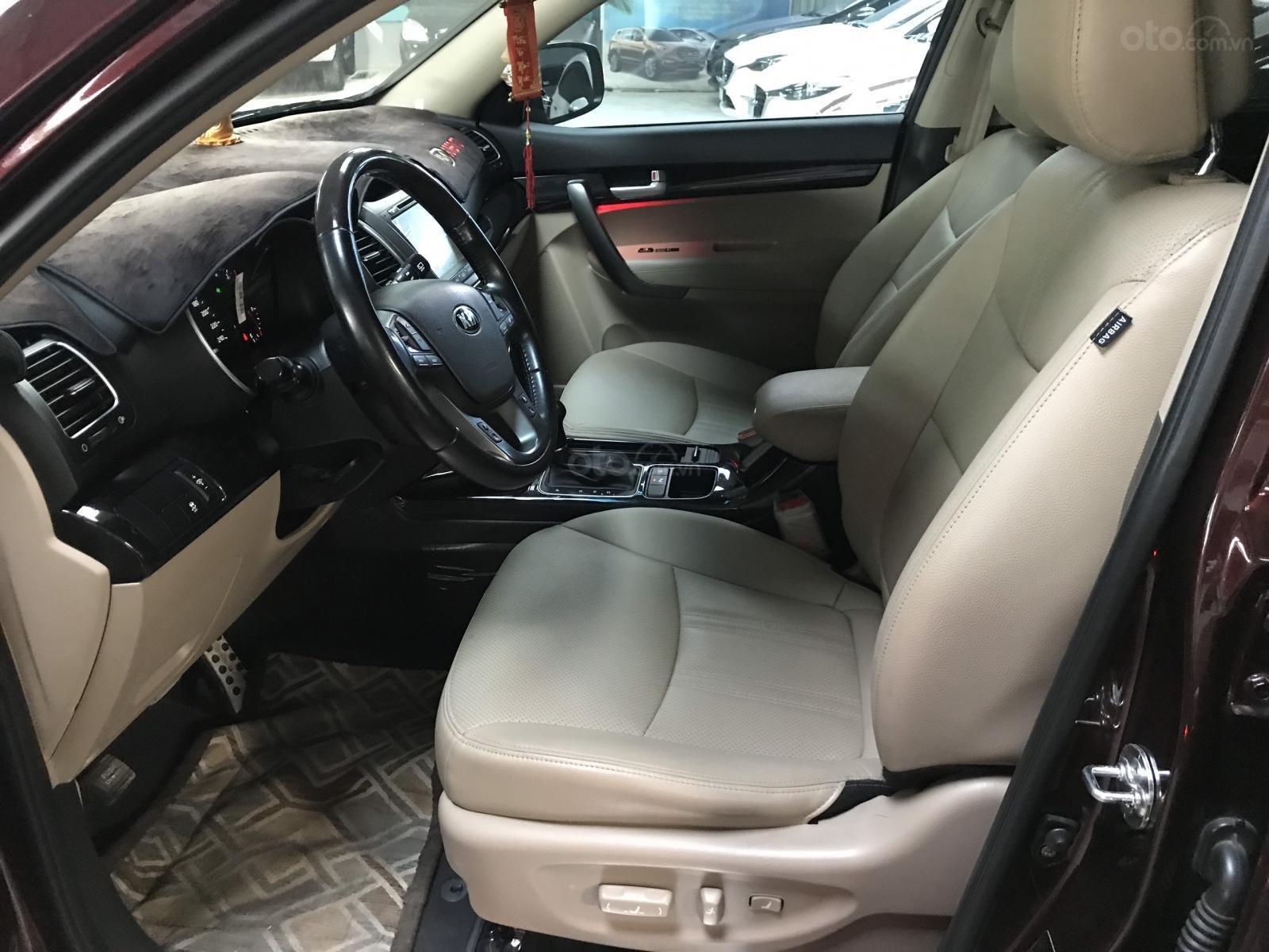 Bán Kia New Sorento GATH 2.4AT màu đỏ mận số tự động sản xuất 2017 xe đẹp (2)