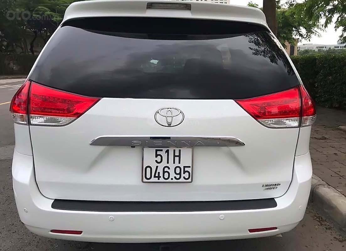 Bán Toyota Sienna Limited 2011, màu trắng, nhập khẩu   (1)
