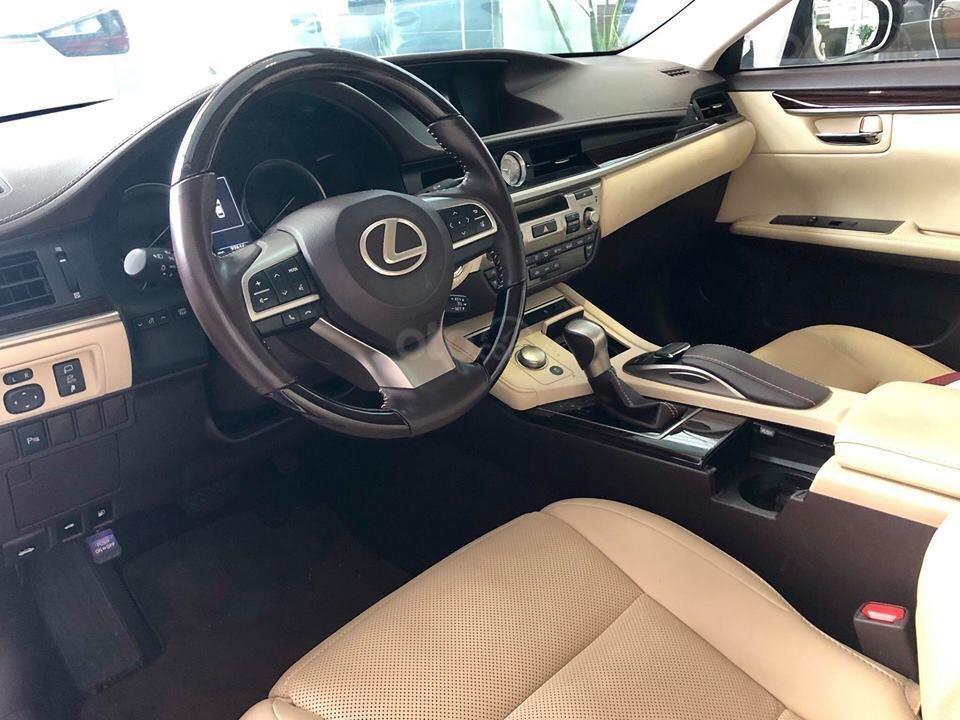 Cần bán gấp Lexus ES 250 2017, màu trắng, nhập khẩu chính chủ (6)