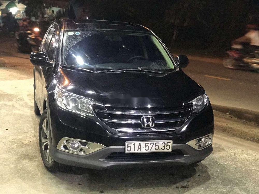 Cần bán gấp Honda CR V năm 2014, màu đen, giá tốt (1)