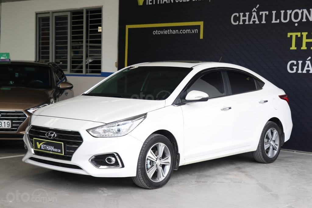 Hyundai Accent 1.4AT 2018, có bảo hành và trả góp 70% (1)