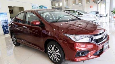 Honda City G hỗ trợ tiền mặt khủng - Tặng gói phụ kiện theo sự lựa chọn của KH - Màu đỏ giao ngay trong tuần (7)