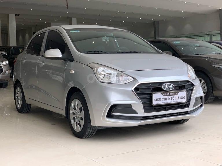 Bán Hyundai Grand i10 đời 2016 1.2 AT, màu bạc, liên hệ: 0398706211 (1)