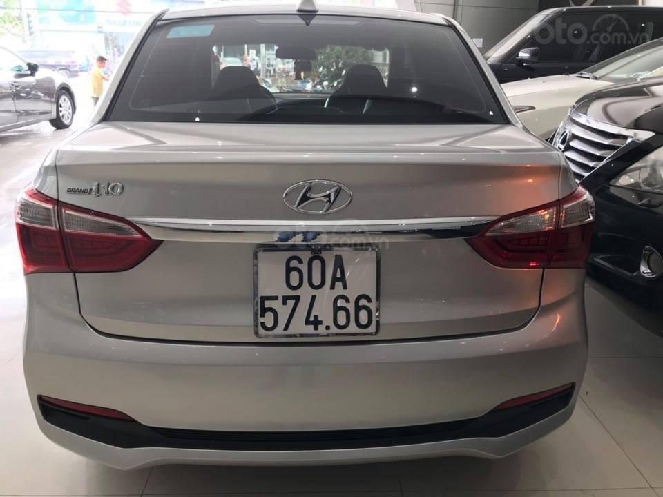 Bán Hyundai Grand i10 đời 2016 1.2 AT, màu bạc, liên hệ: 0398706211 (2)