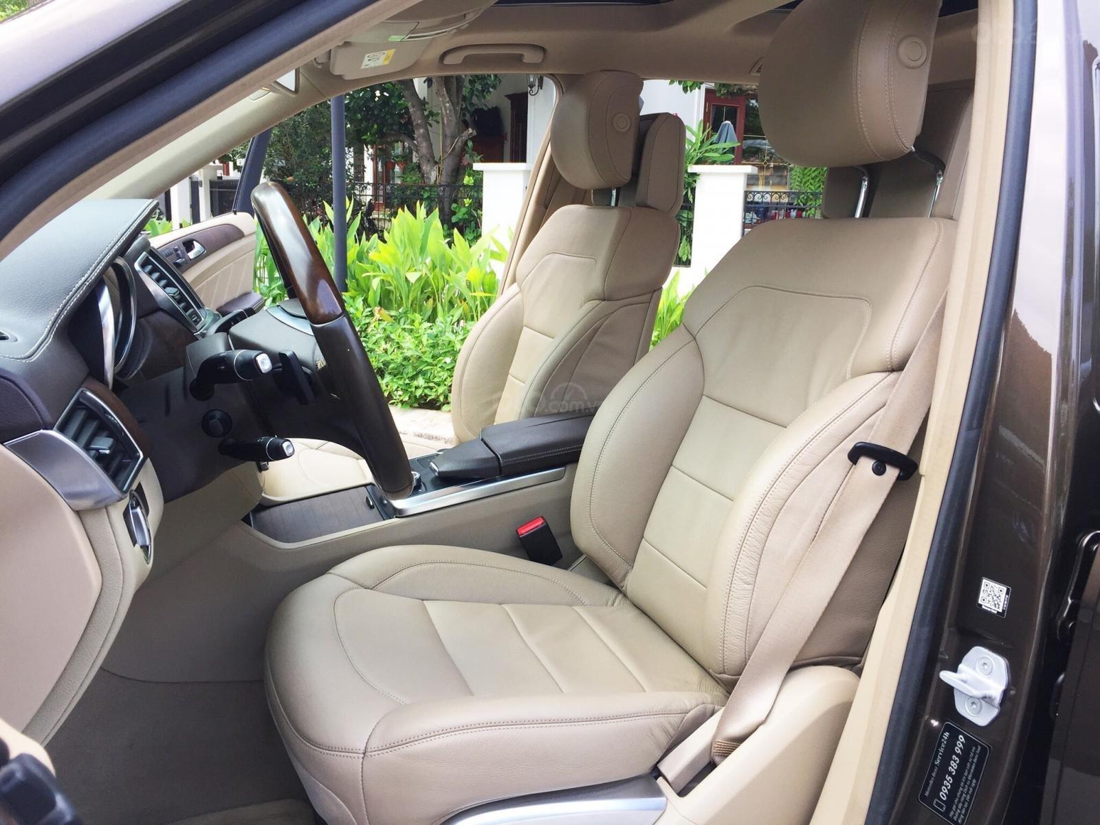 Xe Mercedes GL500 2015, màu nâu, nhập khẩu số tự động (7)
