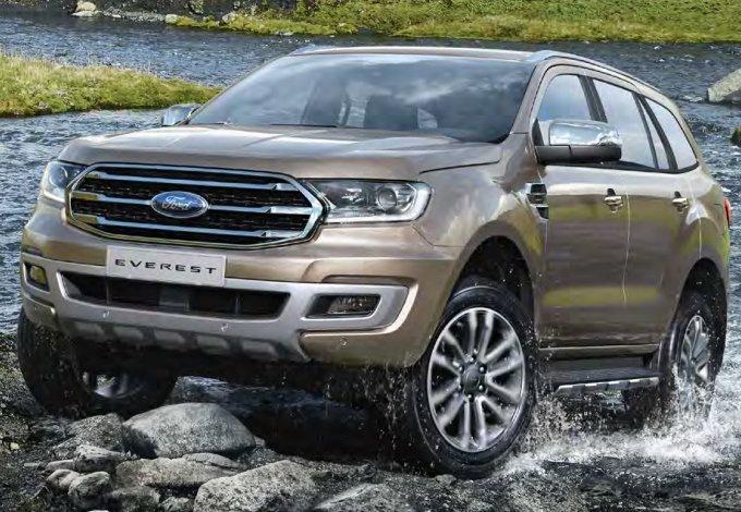 xe ô tô 7 chỗ tiết kiệm nhiên liệu nhất hiện nay tại Việt Nam - Ford Everest.