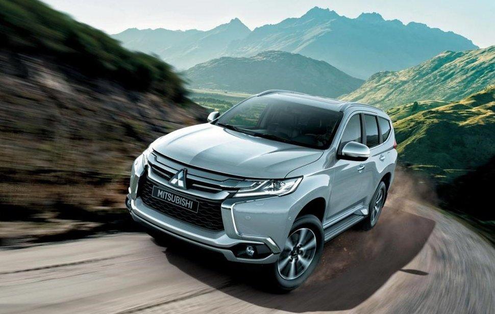 xe ô tô 7 chỗ tiết kiệm nhiên liệu nhất hiện nay tại Việt Nam - Mitsubishi Pajero Sport Diesel.