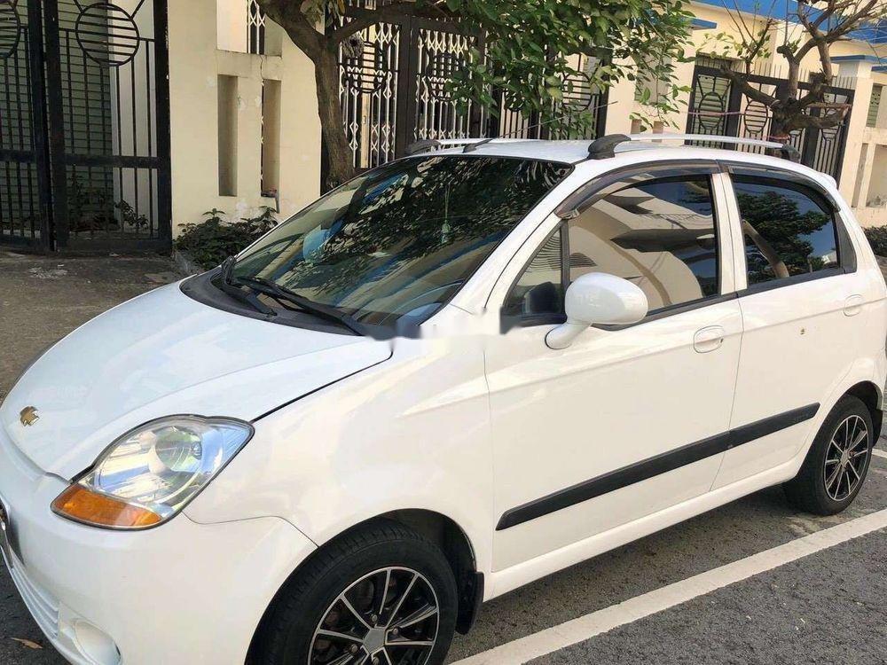Bán xe Chevrolet Spark đời 2010, màu trắng, nhập khẩu   (1)