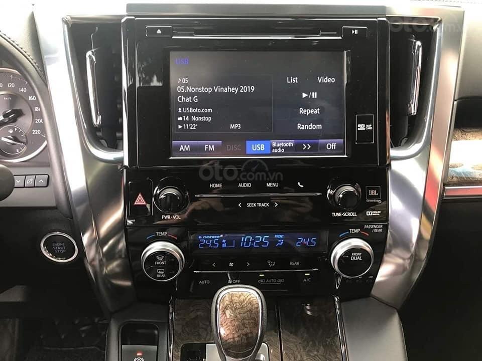 Bán xe Toyota Alphard 2019 nhập Nhật, hạng sang siêu vip, hỗ trợ bank 90% LH: 084.765.5555 (6)