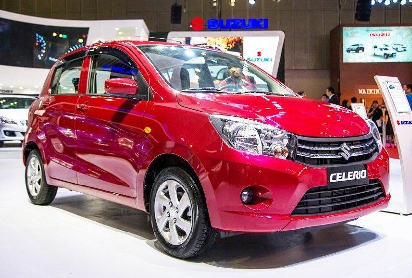 Top 5 xe ô tô giá rẻ nhất Việt Nam hiện nay - Suzuki Celerio.