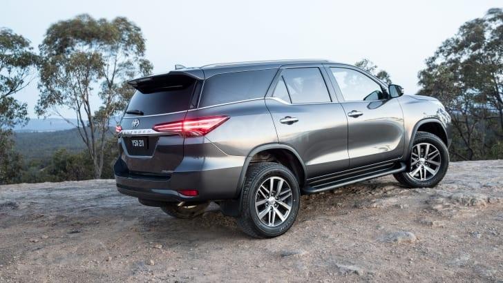 Toyota Fortuner 2020 mọi biến thể nâng cấp độ an toàn