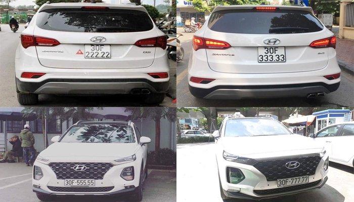 Lại thêm chiếc Hyundai Santa Fe biển ngũ quý 9 tại Hà Nội a2