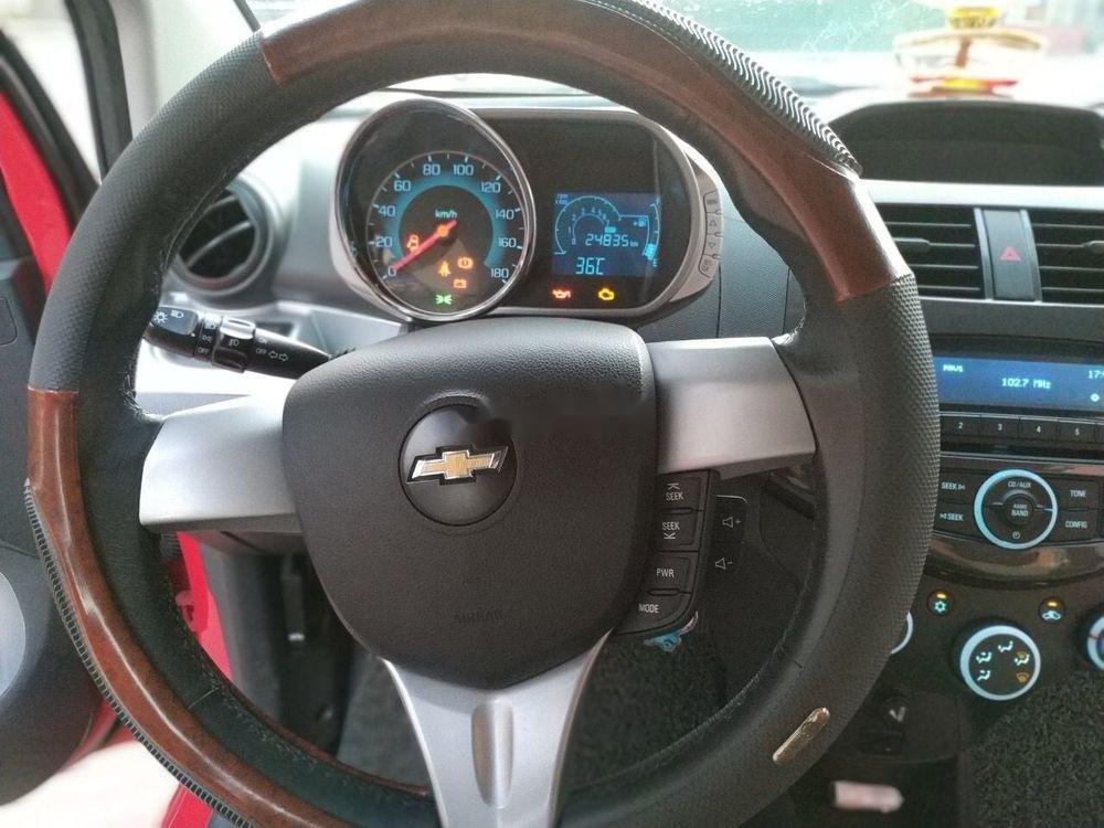Bán ô tô Chevrolet Spark sản xuất năm 2015, màu đỏ như mới (4)