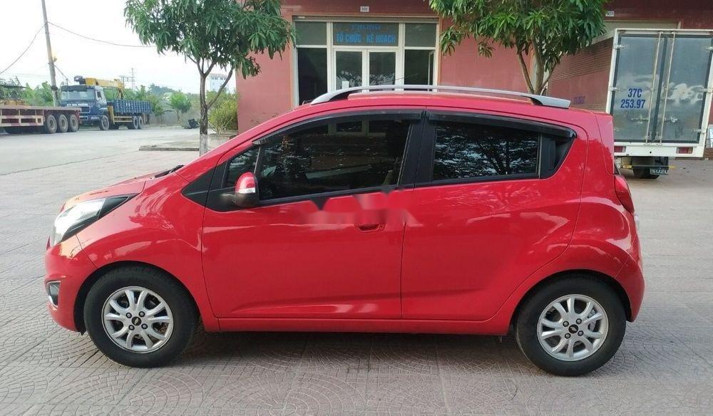 Bán ô tô Chevrolet Spark sản xuất năm 2015, màu đỏ như mới (8)