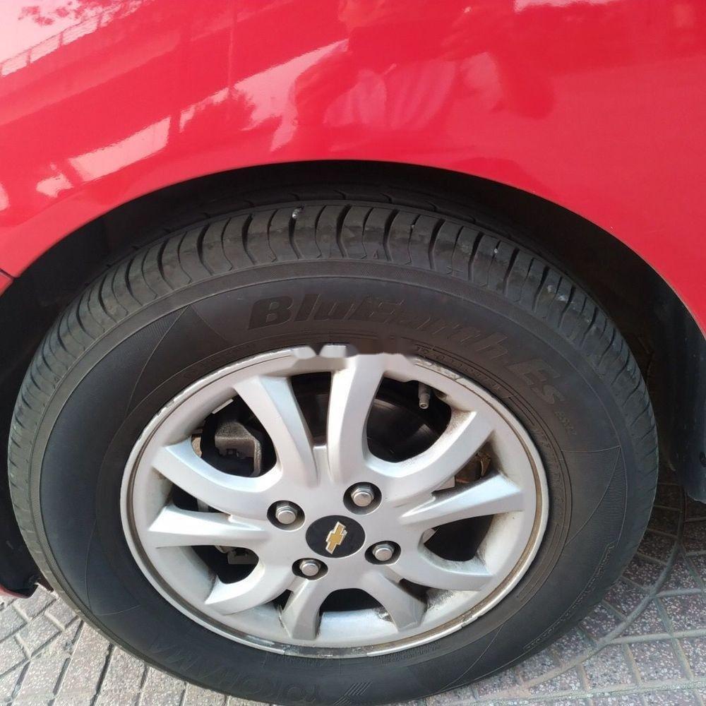 Bán ô tô Chevrolet Spark sản xuất năm 2015, màu đỏ như mới (6)