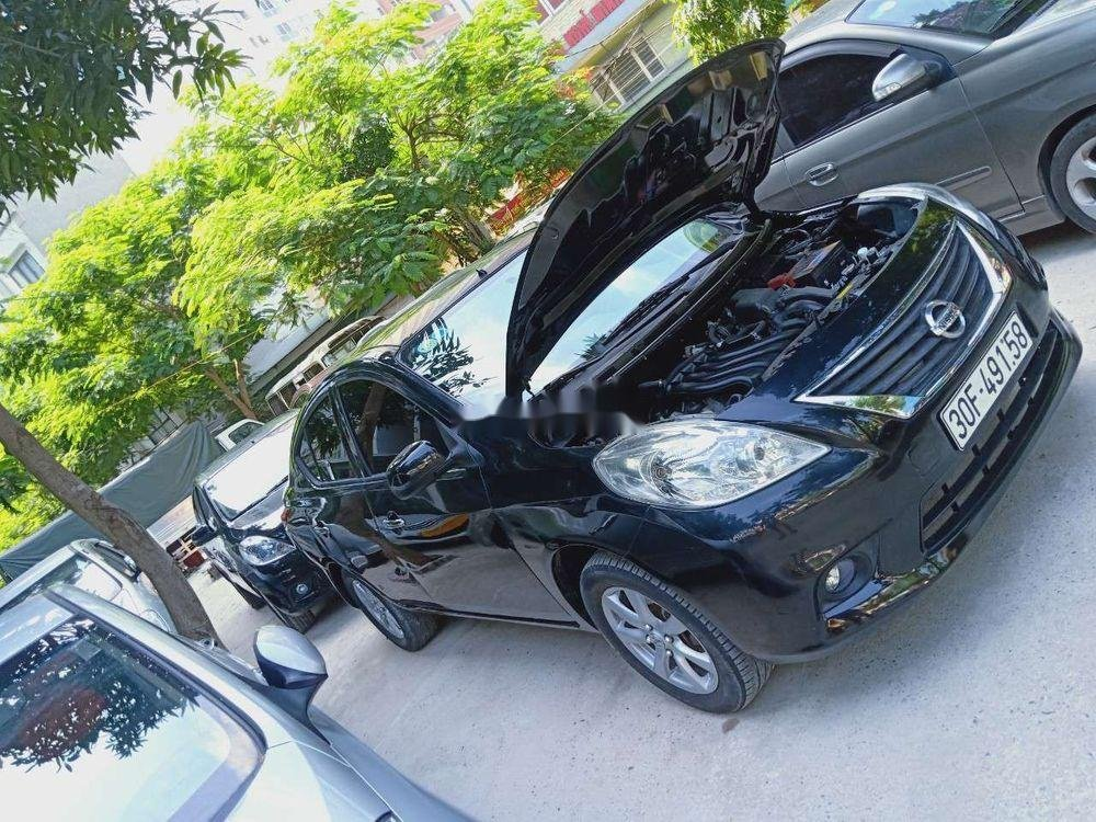 Cần bán Nissan Sunny 2015, màu đen số sàn (1)
