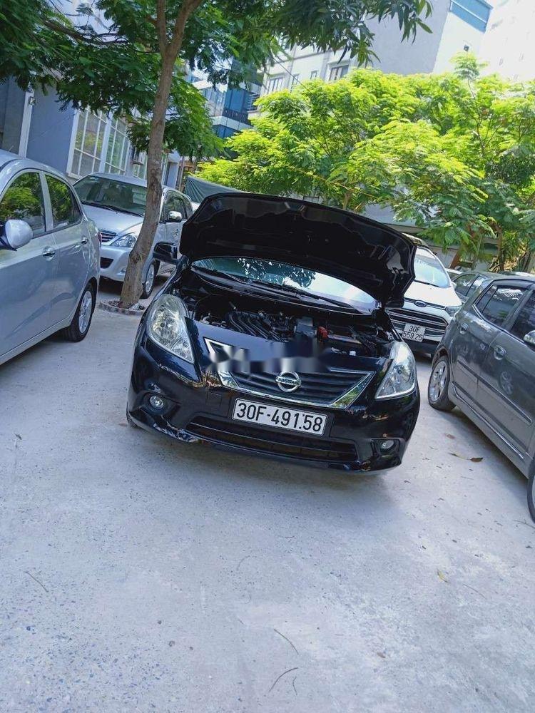 Cần bán Nissan Sunny 2015, màu đen số sàn (5)