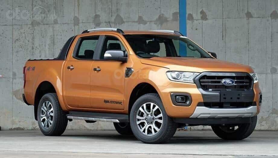 Bán ô tô Ford Ranger Wildtrak đời 2019, màu nâu, nhập khẩu, 801 triệu (1)