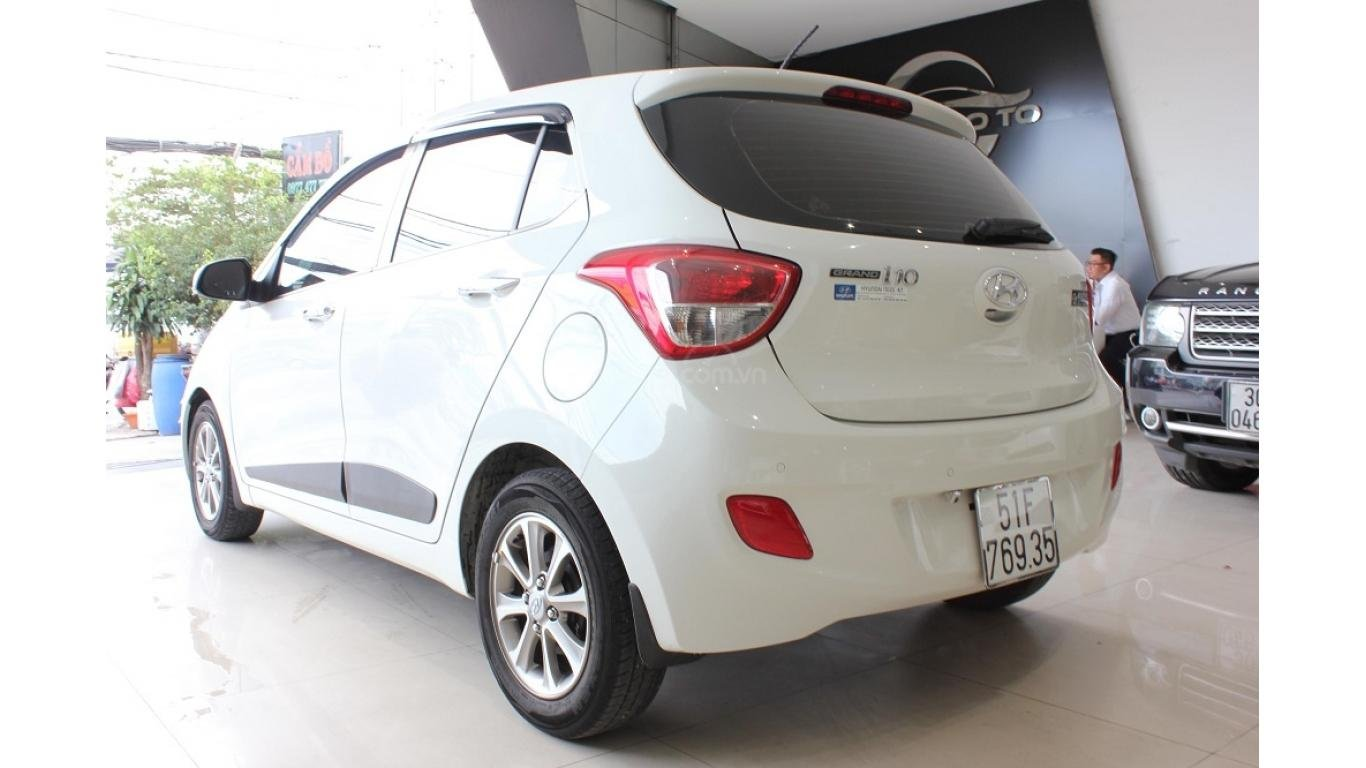 Cần bán xe Hyundai Grand i10 1.2 AT 2016, trả trước chỉ từ 115tr. Hotline 0985.190491 Ngọc (5)