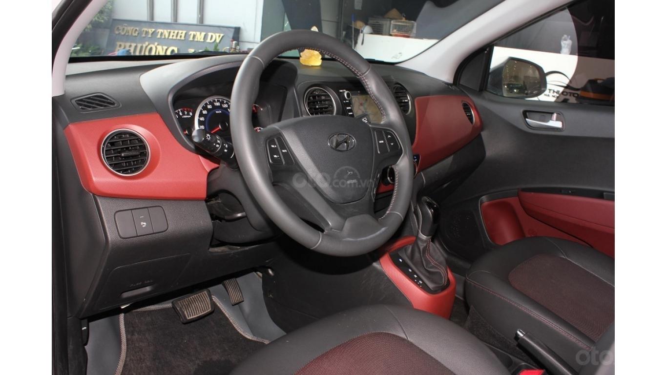 Cần bán xe Hyundai Grand i10 1.2 AT 2016, trả trước chỉ từ 115tr. Hotline 0985.190491 Ngọc (10)