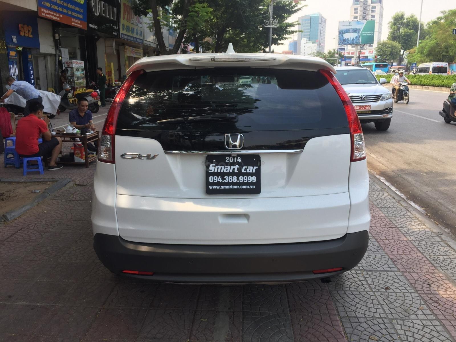 Cần bán xe Honda CR V 2.4 đời 2014, màu trắng (3)