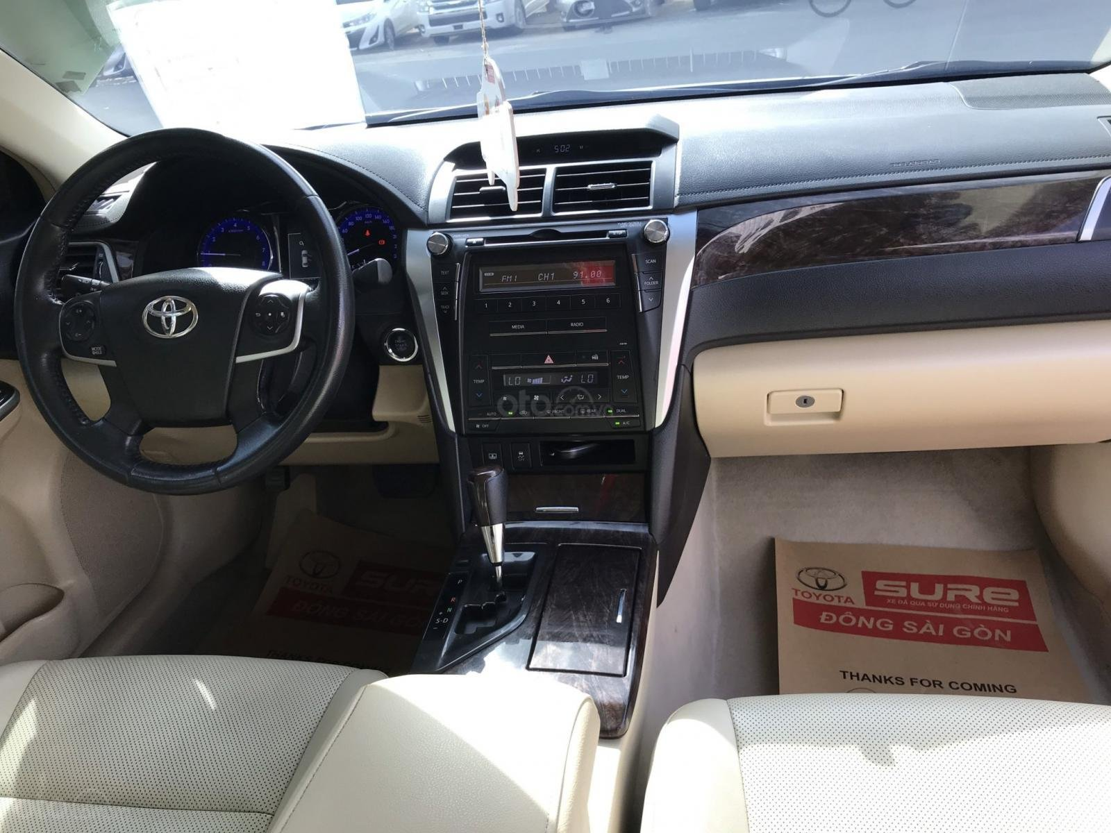 Bán Camry 2.5G 2015 màu ghi xanh, xe lái thử Toyota thanh lý, giá còn giảm sâu nhé (5)