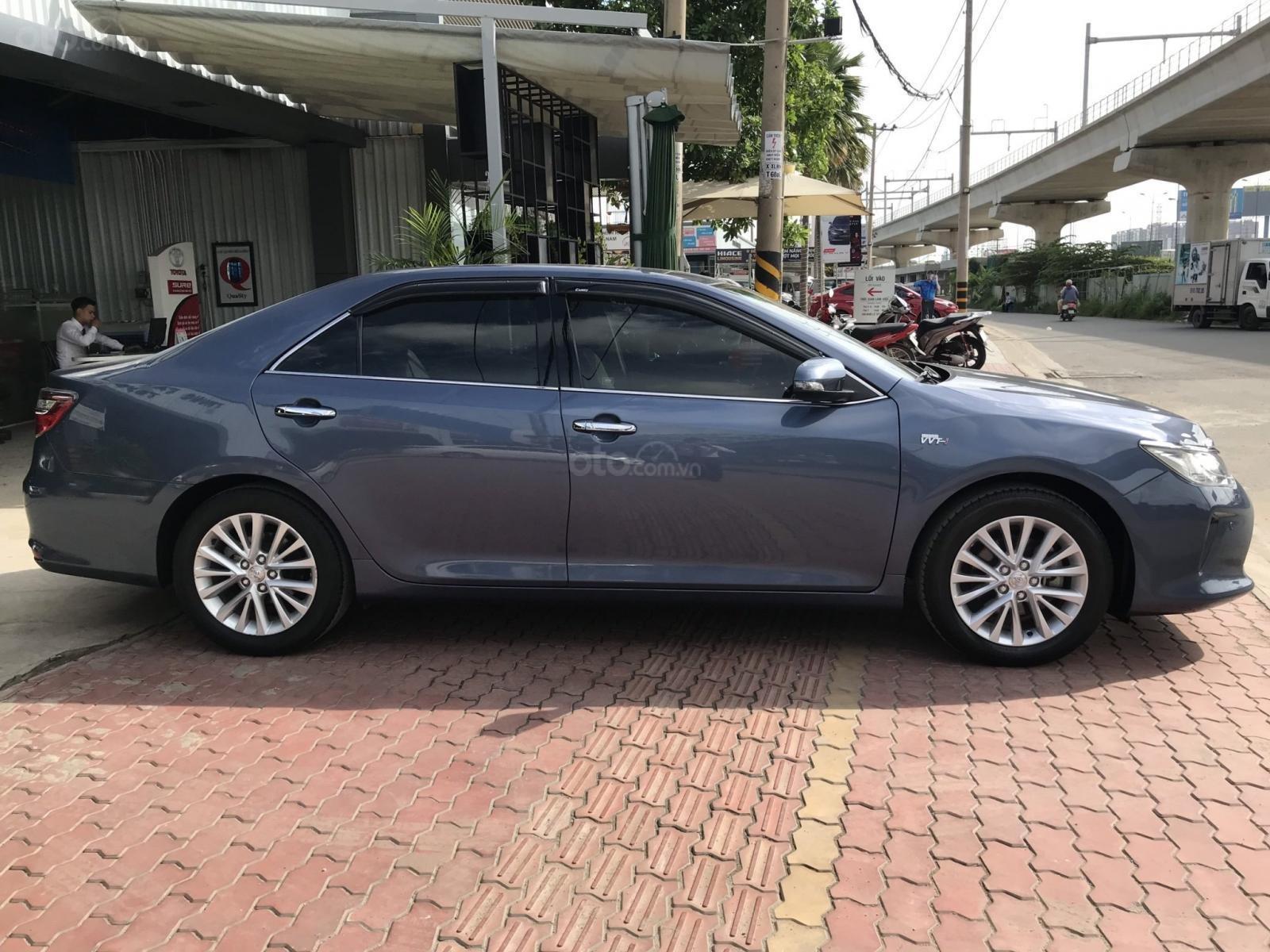 Bán Camry 2.5G 2015 màu ghi xanh, xe lái thử Toyota thanh lý, giá còn giảm sâu nhé (8)