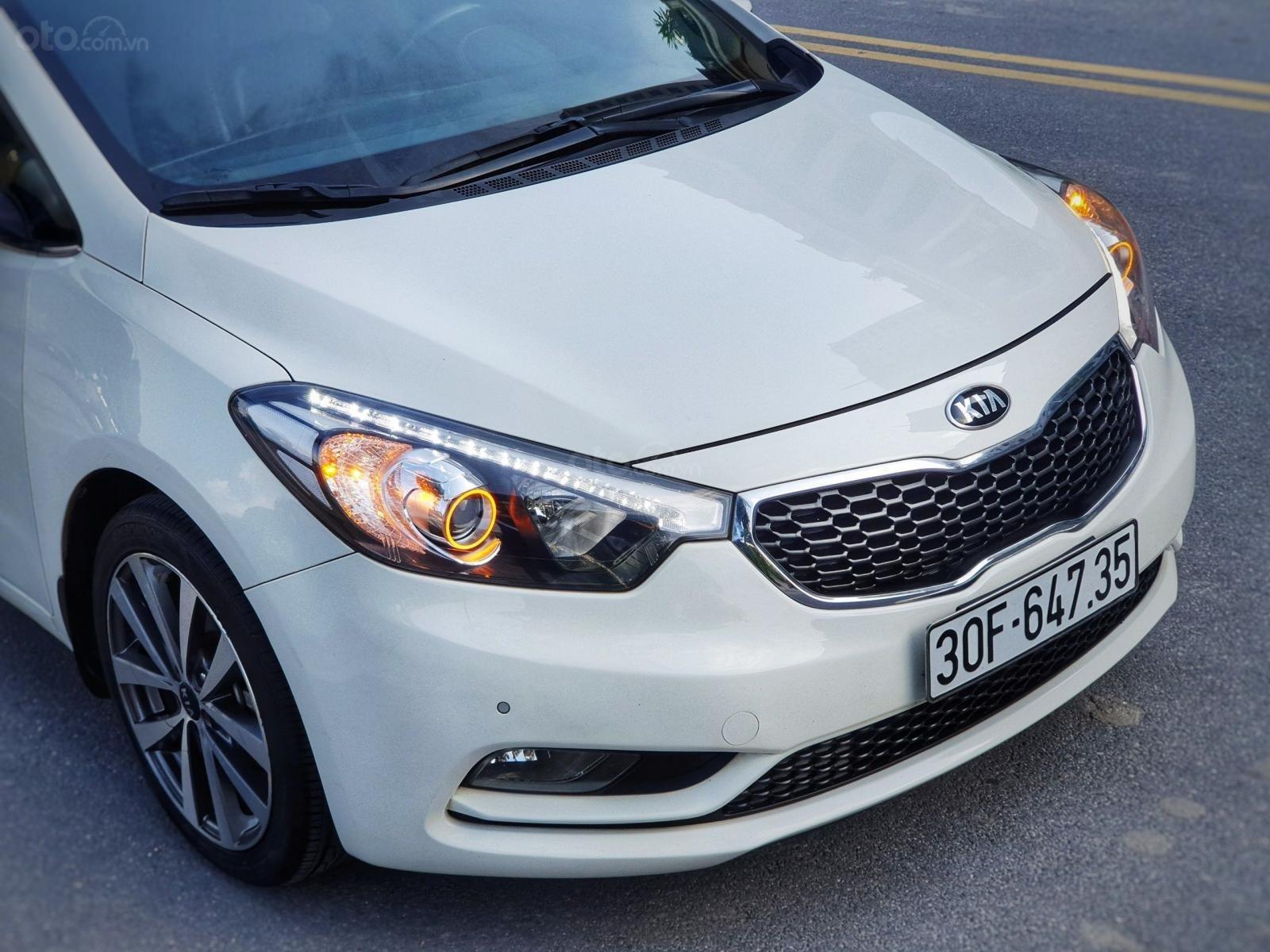 Cần bán lại xe Kia K3 2.0 2014, màu trắng, chất lượng đã được kiểm định (3)