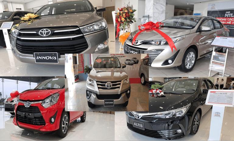 Toyota Việt Nam thắng đậm với 7.334 xe bán ra trong tháng 9/2019 2