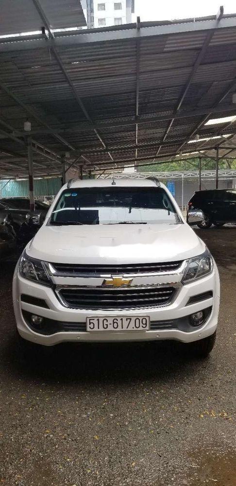 Bán xe Chevrolet Trailblazer đời 2018, màu trắng, xe nhập (7)