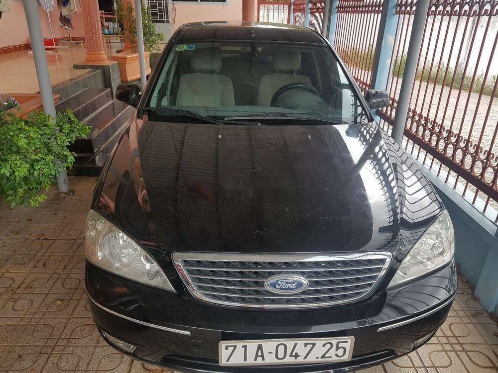 Cần bán xe Ford Mondeo 2.0 sản xuất năm 2004, màu đen, nhập khẩu, giá tốt (1)