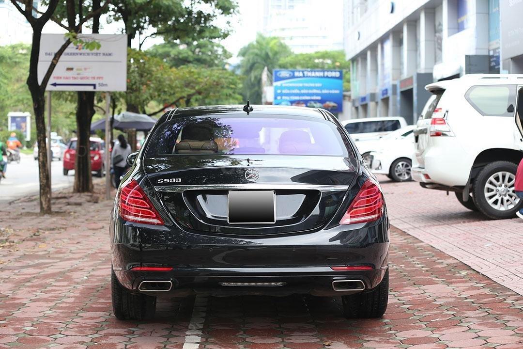 Cần bán xe Mercedes S400 năm sản xuất 2016, màu đen nội thất nâu (14)